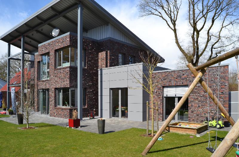 Haus bauen modern klinker  Wittmunder Klinker - Haus K, Dinklage