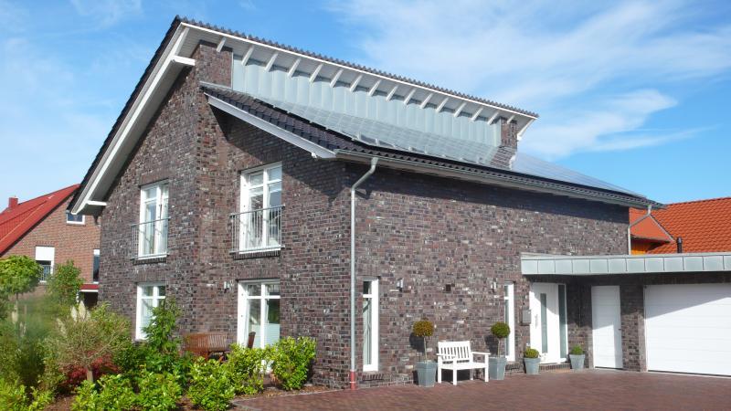 Wittmunder klinker referenzen for Klinkerhaus modern
